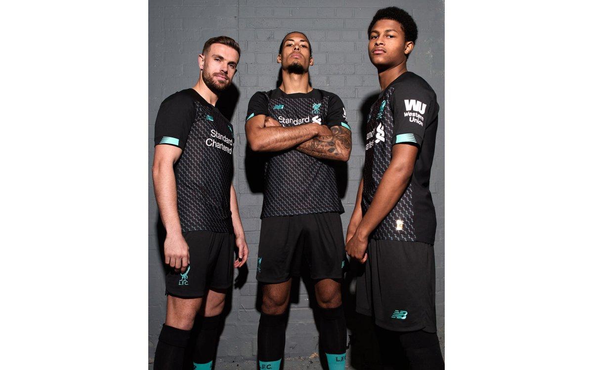 El Liverpool presentó su tercera piel para la 2019-20