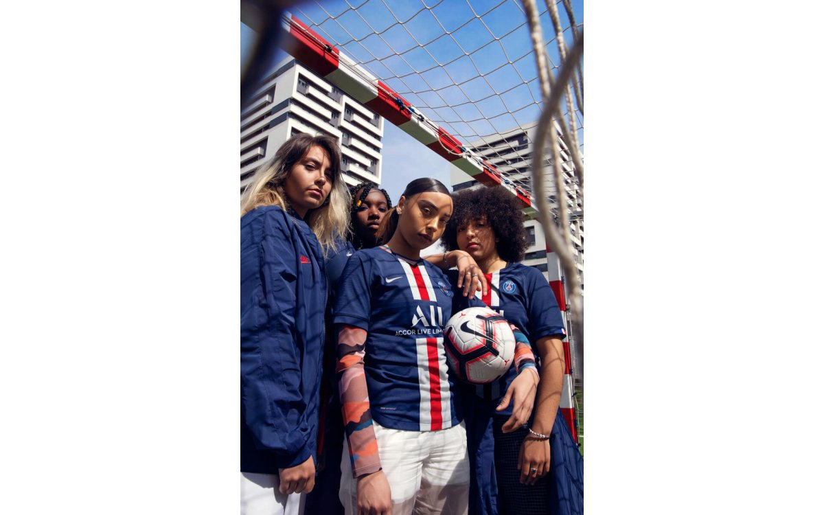 Camiseta de local del Paris Saint-Germain para la temporada 2019-20.