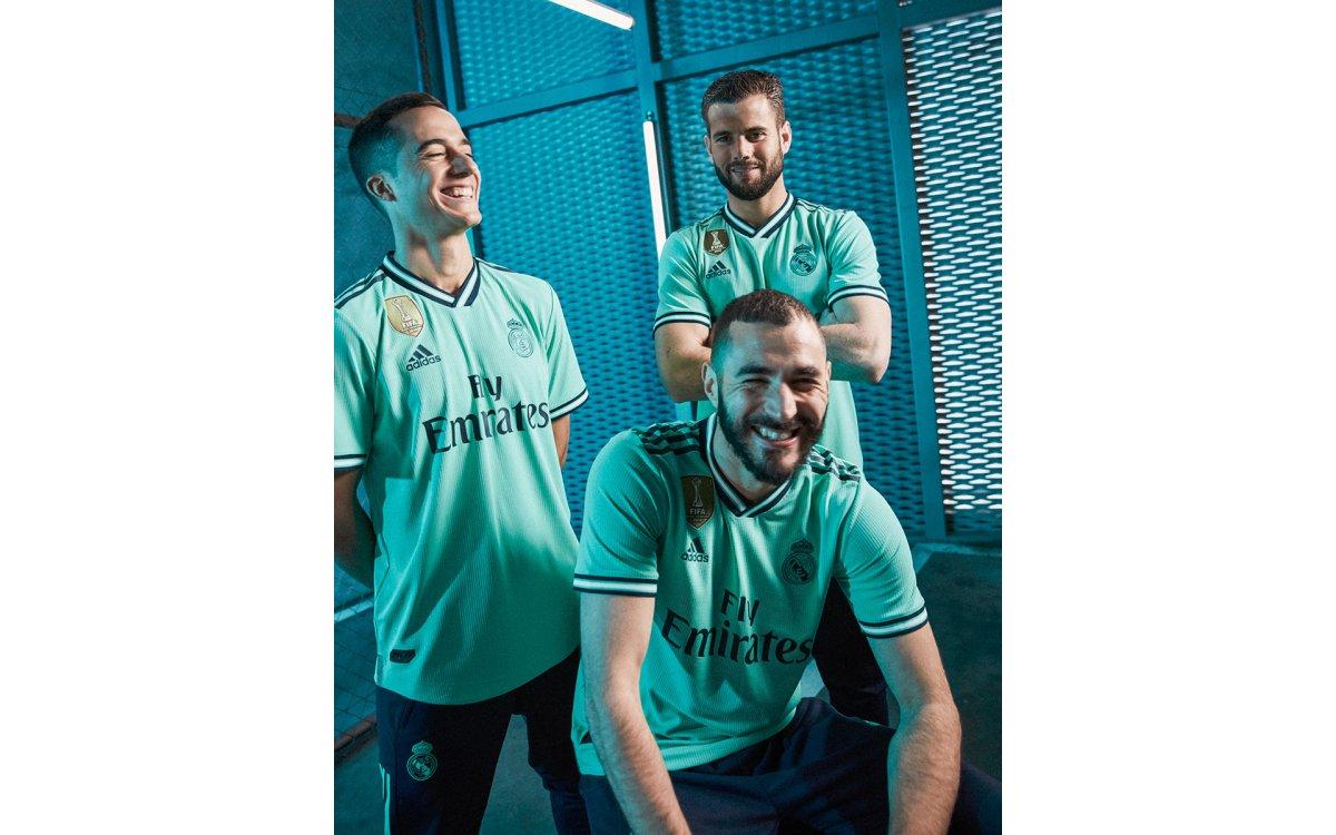 Así es la segunda camiseta del Real Madrid 2019-2020