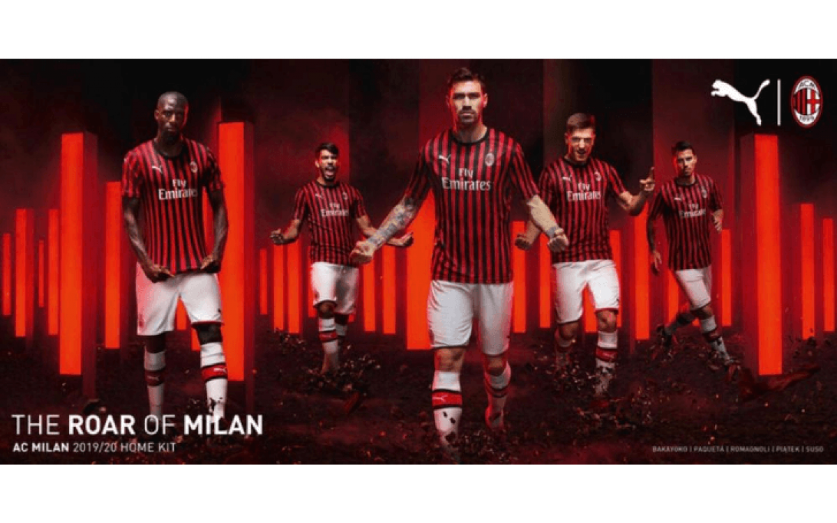 Se filtra el diseño de la camiseta del AC Milan 2019-2020