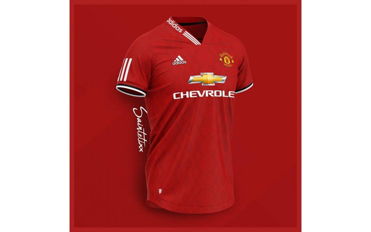 Camiseta 1a Equipación Manchester United 19-20