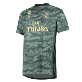 Camiseta De Portero Real Madrid 2019/2020 Verde