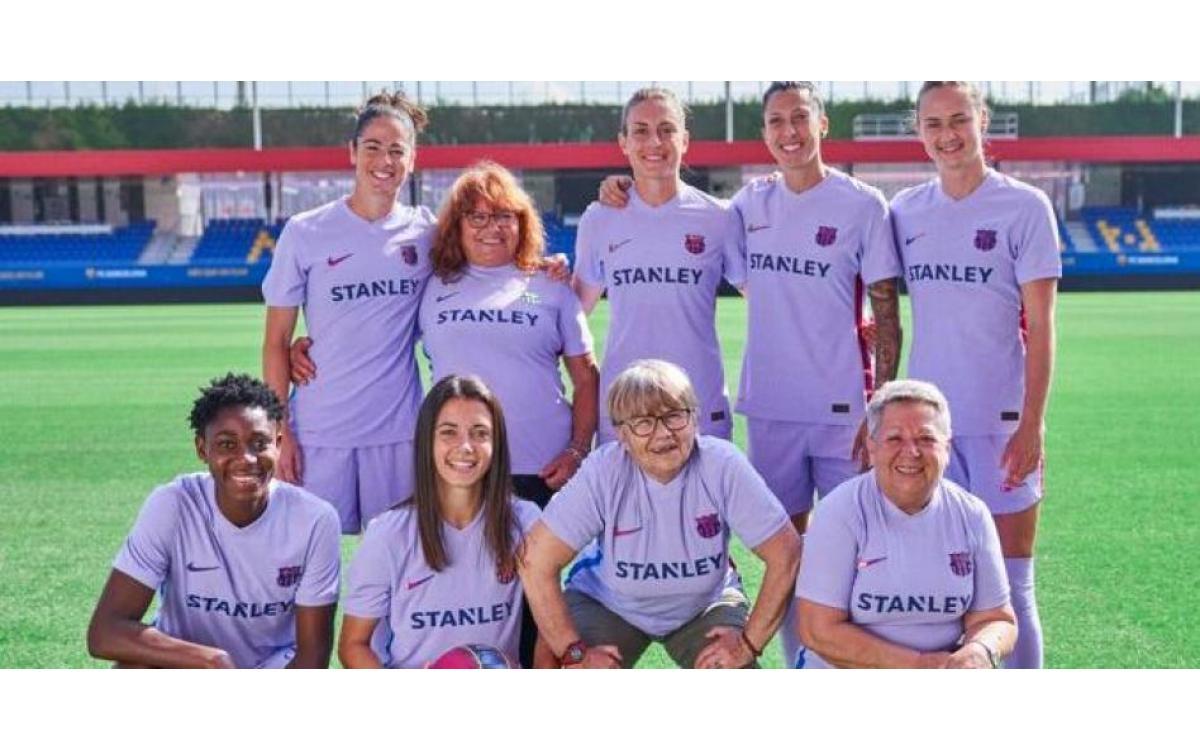 La segunda equipación del Barça reivindica el empoderamiento de la mujer