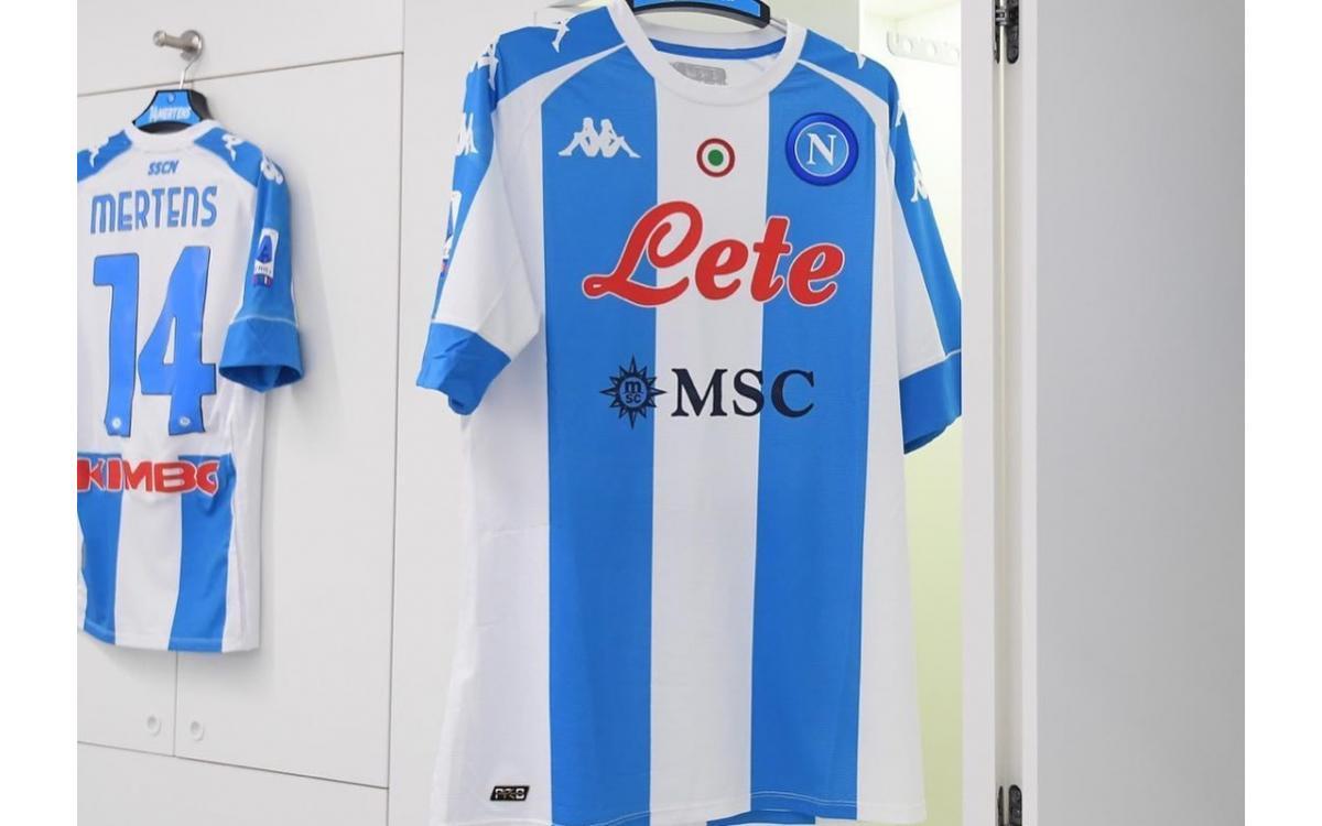 SSC Napoli 2020/21 Equipación inspirada en Argentina