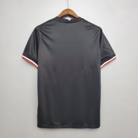Camiseta Entrenamiento Inglaterra Negro Blanco 2020-2021