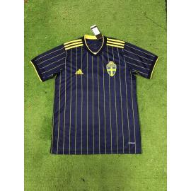 Camiseta Suecia 2a Equipación 2020