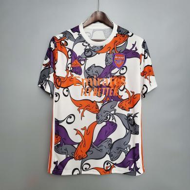 Camisetas De Arsenal Pre-match Training Suit 2020-2021