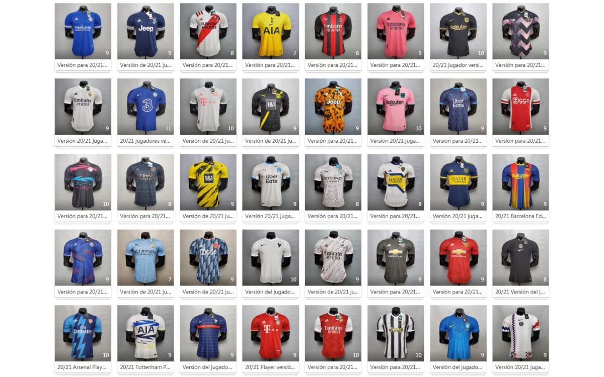 Camisetas de la Temporada 2020/2021