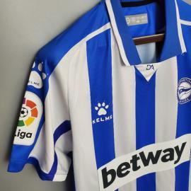 Camiseta Deportivo Alavés 1ª Equipación 20/21 Niño