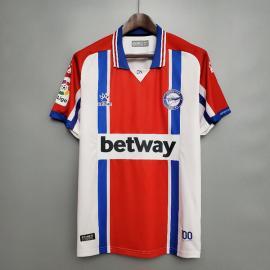 Camiseta Deportivo Alavés 2ª Equipación 20/21