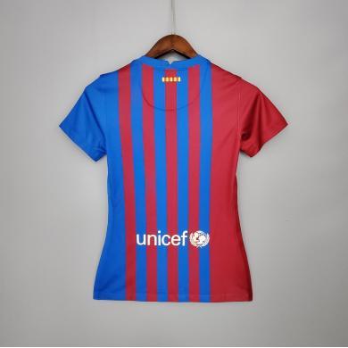 Camiseta Barcelona 1ª Equipación 2021/2022 Mujer