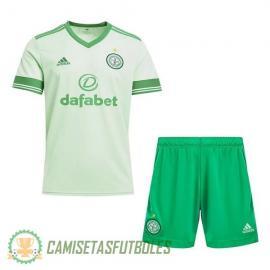 Camiseta Celtic 2ª Equipación 2020/2021 Niño