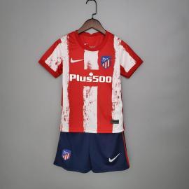 Camiseta Del Atlético De Madrid 2021/2022 Nino