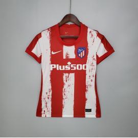 Camiseta Del Atlético De Madrid 2021/2022 Mujer