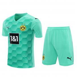 Camiseta Equipación De Portero Del Borussia Dortmund 20/21 Verde