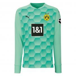 Camiseta Equipación De Portero Del Borussia Dortmund 20/21 (Verde)