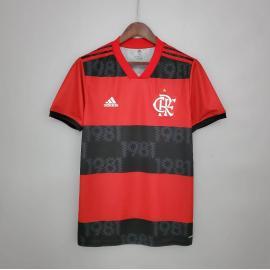 Camiseta Flamengo Primera Equipación 2021/2022