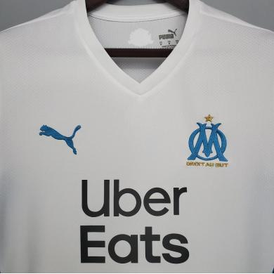 Camiseta Olympique Marsella Primera Equipación 2021 2022