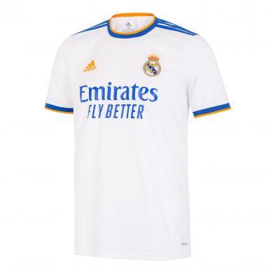 Camiseta Real Madrid Hombre Primera Equipación Blanca 21/22