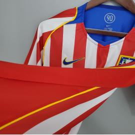 Camiseta Retro Atlético De Madrid 04/05