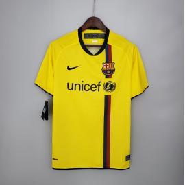 Camiseta Retro Barcelona 2ª Equipación 08/09