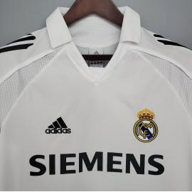 Camiseta Retro Real Madrid Primera Equipación 05/06