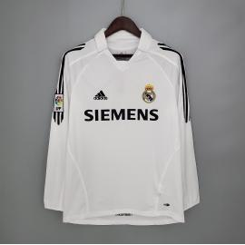 Camiseta Retro Real Madrid Primera Equipación 05/06 ML