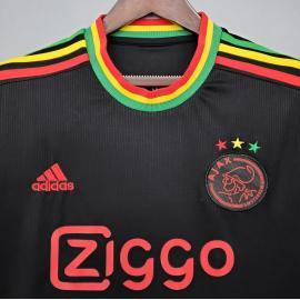 Camiseta A-j-a-x Fc Concepto Negro 2020-2021