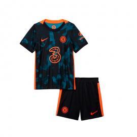 Camiseta Chelsea Fc Tercera Equipación 2021-2022 Niño