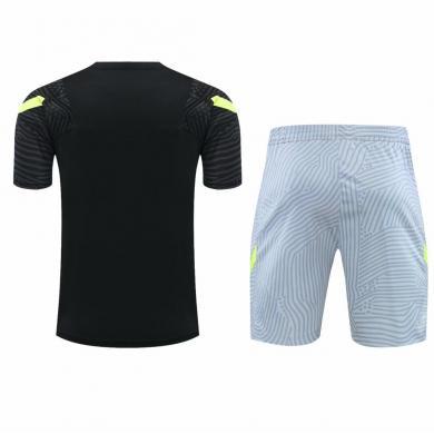 Camiseta Entrenamiento Atletico Madrid Negro 2020/2021