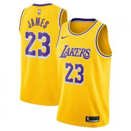 Camiseta Icon Swingman de Los Ángeles Lakers de LeBron James