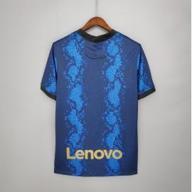Camiseta Inter De Milán 1ª Equipación 2021/2022 Niño