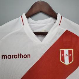 Camiseta Perú Primera Equipaciónes De Fútbol 2021/2022