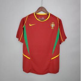 Camiseta Portugal Primera Equipación 2002