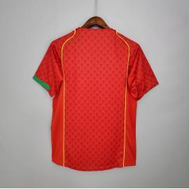 Camiseta Portugal Primera Equipación 2004