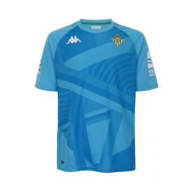 Camiseta Real Betis Portero Junior Kombat Azul 21/22