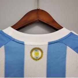 Camiseta Retro 2010 Argentina Primera Equipación
