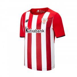 Camiseta Athletic Club Bilba_o Primera Equipación 2021-2022 Niño