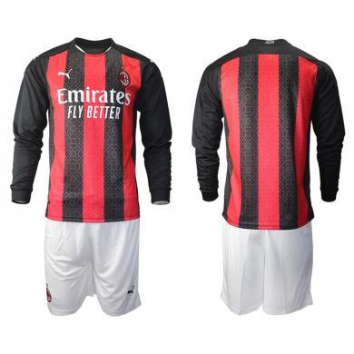 Camiseta AC Milan 1ª Equipación 2020/2021 Manga Larga