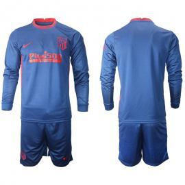 Camiseta Atlético De Madrid Segunda Equipación 2020-2021 Manga Larga