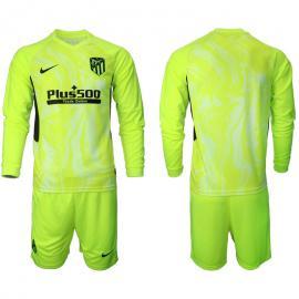 Camiseta Atlético De Madrid Tercera Equipación 2020-2021 Manga Larga