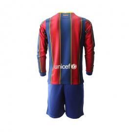 Camiseta Barcelona 1ª Equipación 2020/2021 Manga Larga Niño