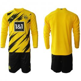 Camiseta Borussia Dortmund 1ª Equipación 2020/2021 Manga Larga