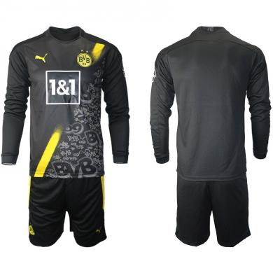 Camiseta Borussia Dortmund 2ª Equipación 2020/2021 Manga Larga
