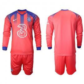Camiseta Chelsea Fc Tercera Equipación 2020-2021 Manga Larga