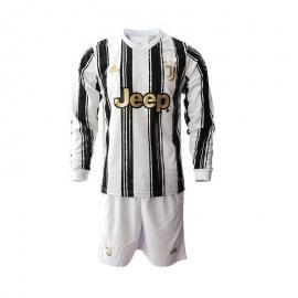 Camiseta Juventus Primera Equipacion Manga Larga 2020/2021 Niño