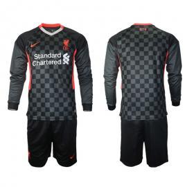 Camiseta Liverpool Fc Tercera Equipación 2020-2021 Manga Larga