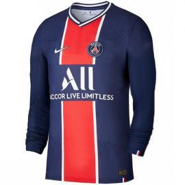 Camiseta París Saint-Germain 1ª Equipación 2020/2021 Manga Larga Niño