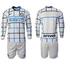 Camisetas Inter Milan Segunda Equipación 2020-2021 Manga Larga
