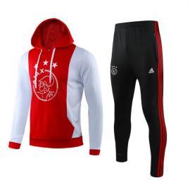 Chandal Ajax 2019/20 Rojo Blanco